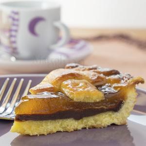 Crostata di cioccolato e confettura di arance gluten free
