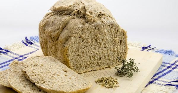Pane integrale al finocchietto