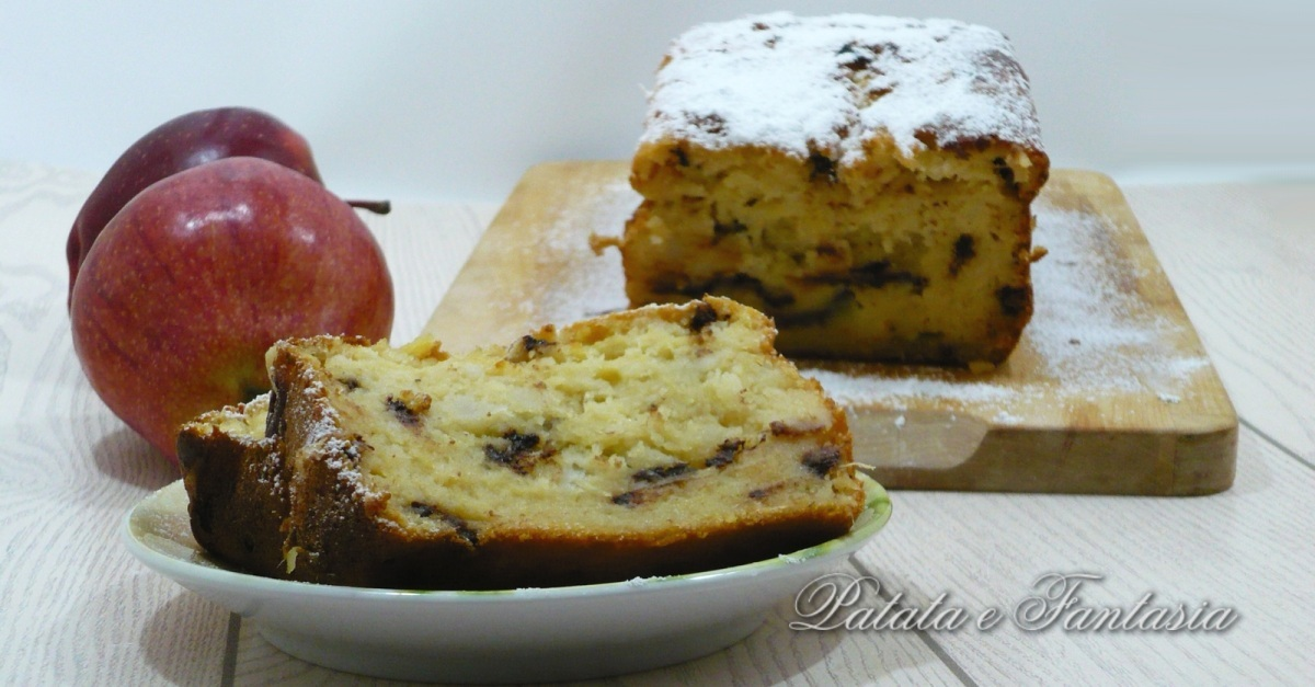 Plumcake con patate dolci e mele food italian cooking for Ricette di dolci
