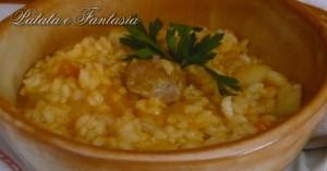 Ricetta della Minestra di Riso con patate-evidenza