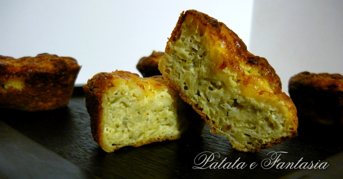 Muffin di frittata con patate e broccoli food italian for Antipasti ricette italiane
