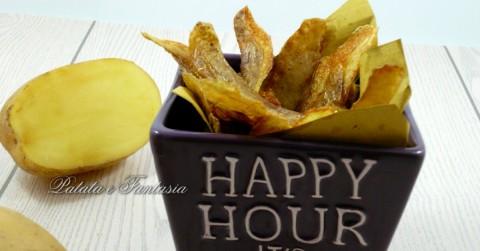 buccia-patate-cucinare-friggere-buccia patata-fritta-evidenza