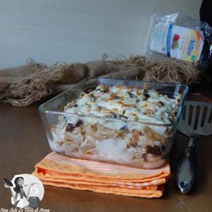 Pasta integrale saporita al Forno