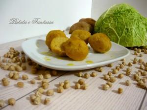Polpette vegane di patate e ceci
