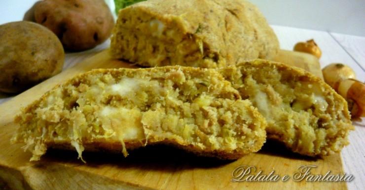 polpettone-patate-tonno-verza-Ricetta-vegetariana-Ricetta-polpettone-vegetariano-evidenza