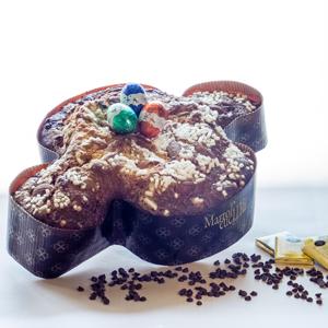 Colomba furbissima al cioccolato bianco