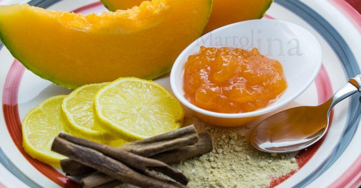Confettura di melone, zenzero e limone