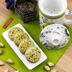 Praline alla nutella di pistacchi con passo passo