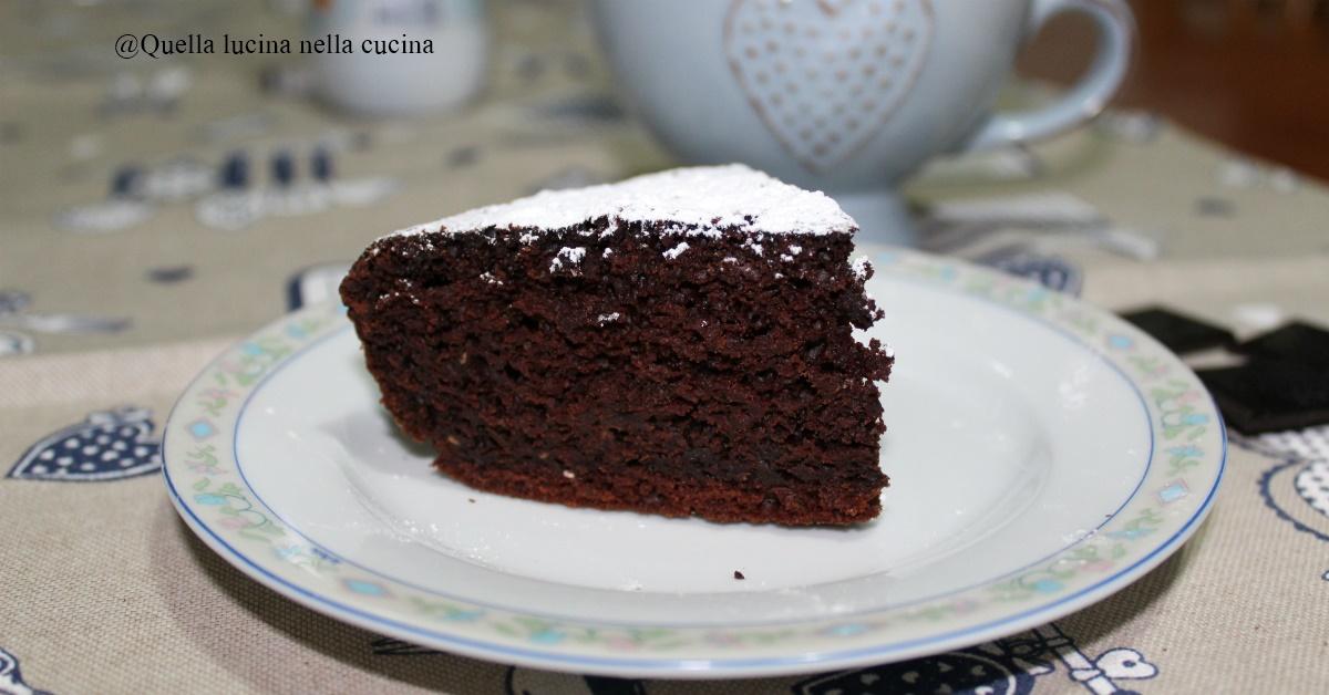 Torta Senza Uova Al Cioccolato.Torta Al Cioccolato Senza Uova Quella Lucina Nella Cucina
