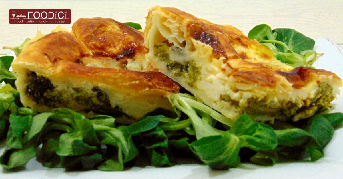 Torta rustica broccoli verdi e formaggi food italian for Antipasti ricette italiane