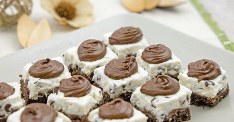 Cheesecake velocissima con wafer, ricotta e Nutella