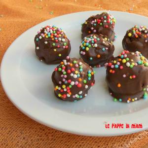 palline al cioccolato e nutella