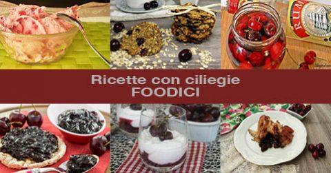 Raccolta di ricette facili con ciliegie