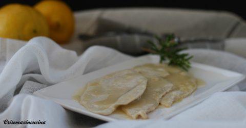 scaloppina di petto di pollo al limone