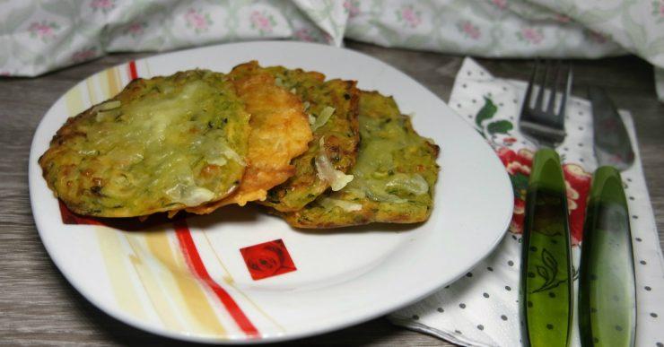 schiacciate di zucchine