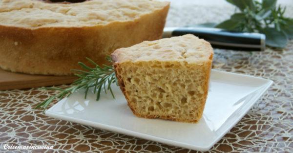 ciambella di pane di farina di semola