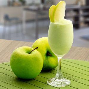 Sorbetto di mele verdi