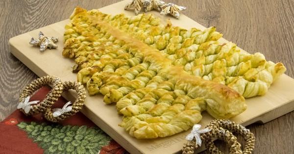 Albero di Natale salato facilissimo