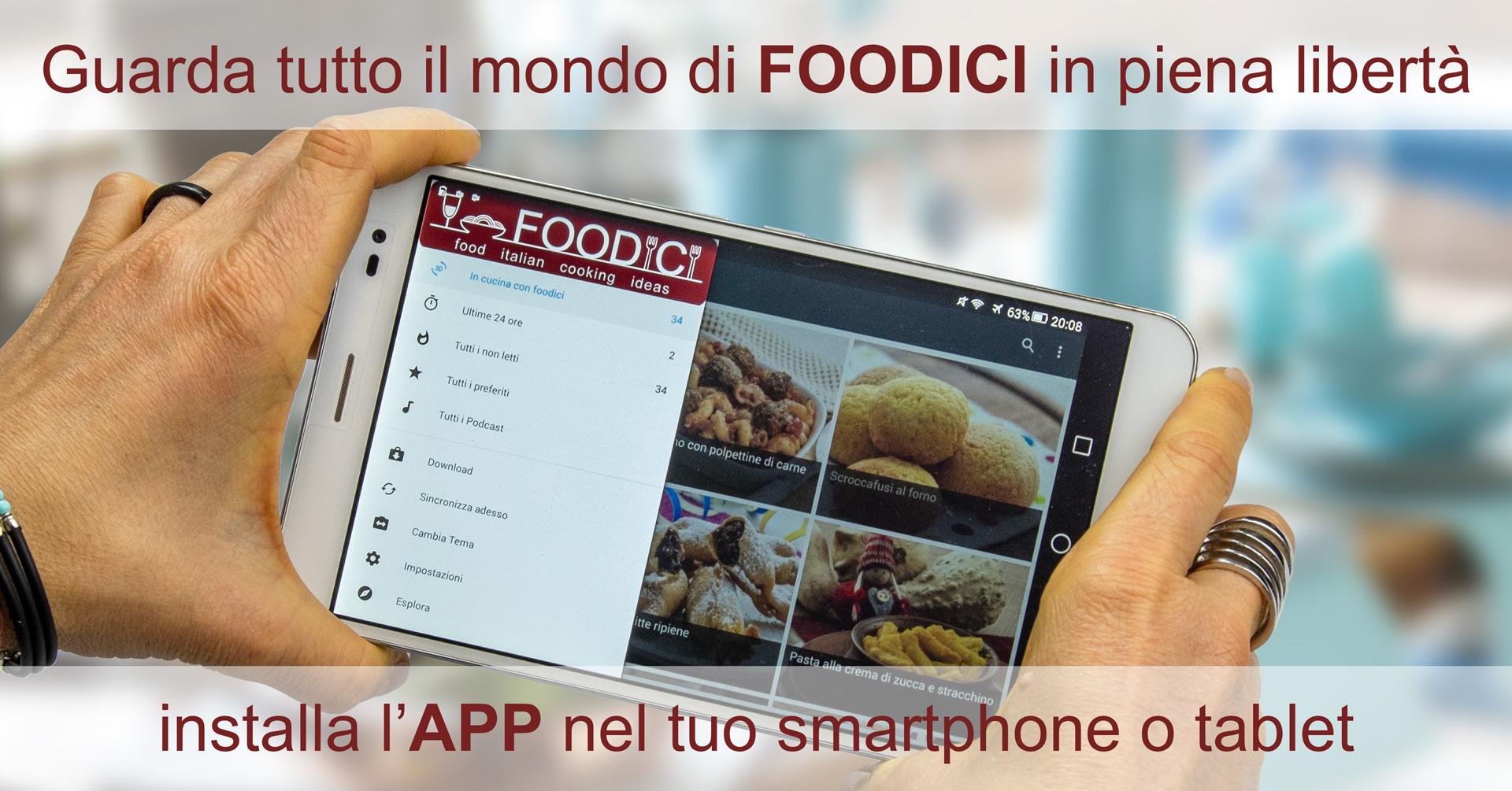 App FOODICI