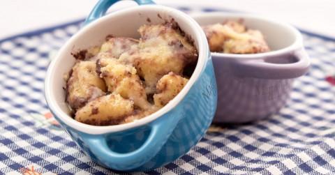 Pasta al forno con radicchio e salsa al taleggio