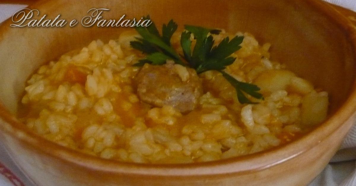 Riso e patate food italian cooking ideas ricette for Piatto della cucina povera