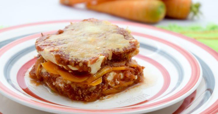 Parmigiana di carote e stracchino